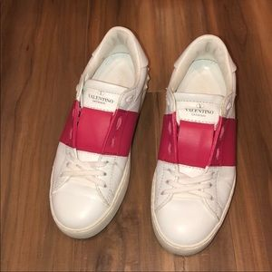 Valentino Leather Sneakers Size 36